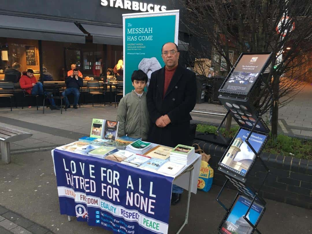 Tabligh Stall by Majlis Raynes Park on 01-01-2019